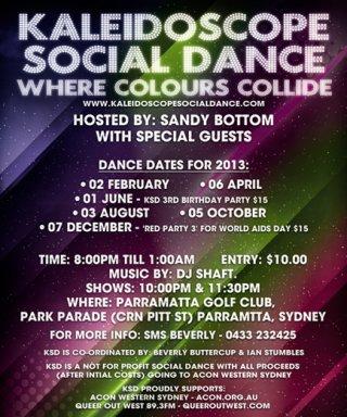 Kaleidoscope Social Dance