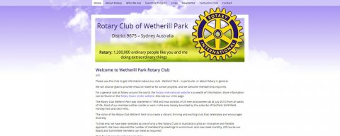 "<span style=""color: #0FC7FF;"">Wetherill Park Rotary Club</span>"