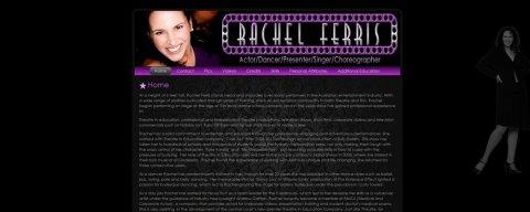 "<span style=""color: #0FC7FF;""><a href=""http://www.rachelferris.com"" alt=""Rachel Ferris"" target=""_blank""><span style=""color: #0FC7FF;"">http://www.rachelferris.com</span></a></span>"