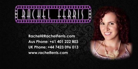 Rachel Ferris Comp Card Front